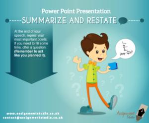 Power Point Presentation Help