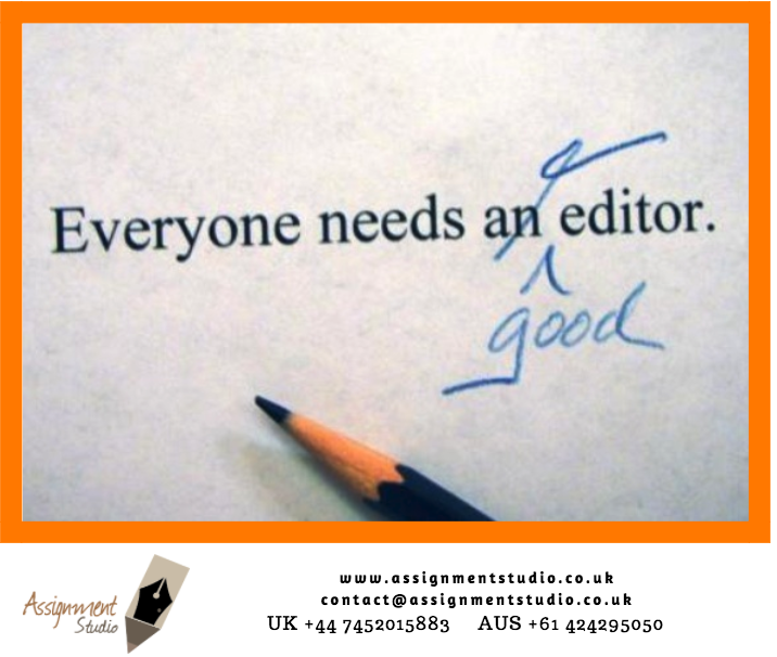 Editing & Proof Reading