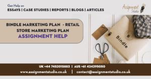 Bindle Marketing Plan - Retail Store Marketing Plan