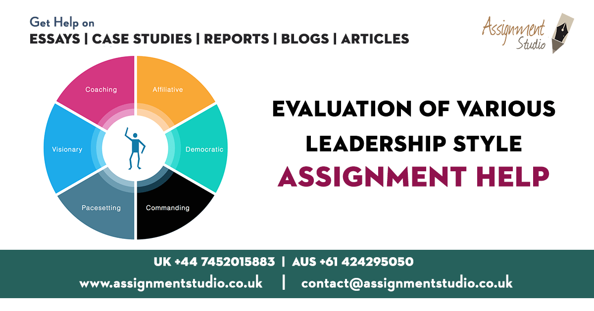 Evaluation of Various - Leadership Style Assignment Help