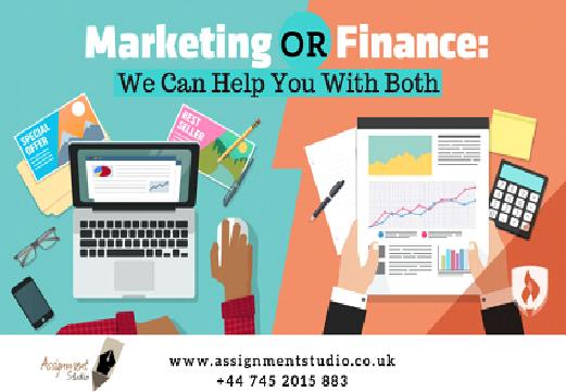 Marketing Finance Assignment