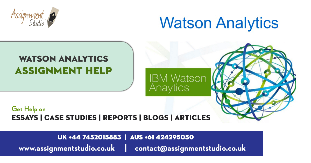 Watson Analytics Assignment Help